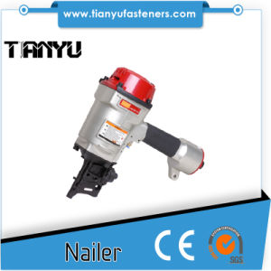 Cn70PAL Pneumaic Coil Nail Gun Fit Automated Pallet Machine pictures & photos