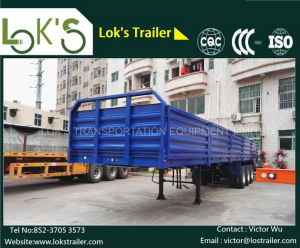 40 Feet 3 Axle Sidewall Semi Trailer pictures & photos