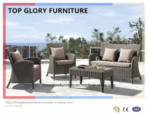 Outdoor Furniture Rattan Sofa with Table (TG-072) pictures & photos