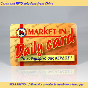 Full Colors PVC Magnetic Stripe Card for Bonus Card pictures & photos