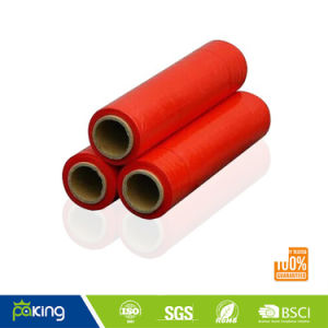 PE Pallet Hand Blown Rewinding Black Wrap Stretch Film pictures & photos