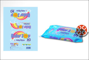 Baby Use Antibacterial Wet Tissues Baby Wipes Flushable Wipes pictures & photos