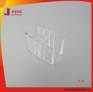 PC Material Supermarket Plastic Shelf Hook for Price Frame pictures & photos