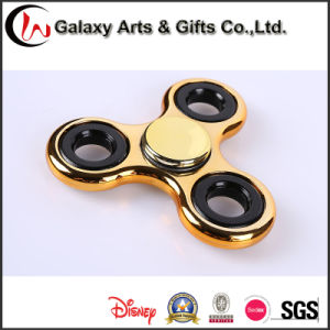 2017 Electroplating Decompression Toy Fingertips Hand Metal Spinners pictures & photos