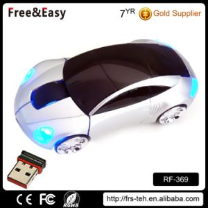 Novelty Portable 2.4GHz Wireless Promotional Gift Car Mouse pictures & photos