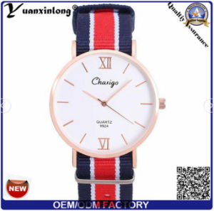 Yxl-304 Whosale Dw Style Real Nylon Strap Modern Watch Men′s Women Ladies Watch OEM/ODM pictures & photos