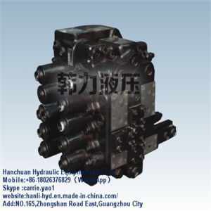 China Manufactur Excavator Oil Hyundai Hydraulic Control Valve (Hyundai 220) pictures & photos