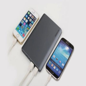 Business Style Ultrathin Mobile Power Bank 10000mAh Dual USB Output pictures & photos