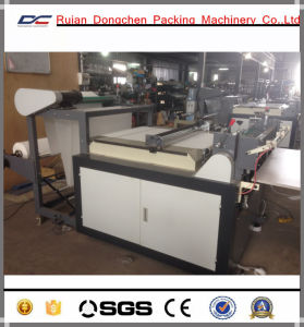 Non Woven Fabric Cross Cutting Sheeting Machine pictures & photos