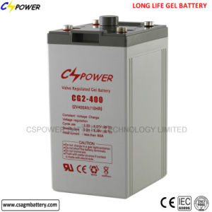 2V300ah Long Life Rechargeable Gel Battery for Solar pictures & photos