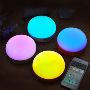 Outdoor Portable Stereo Wireless Bluetooth Speaker for Cyclist with LED Light pictures & photos
