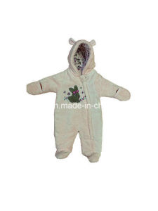 100% Cotton Hooded Romper Garment for Infant pictures & photos
