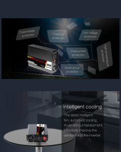 Super Light Weight 1000W DC12V to AC220V 50Hz Power Inverter pictures & photos