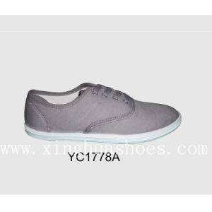 Canvas Shoes Casual in Shoes Fabric pictures & photos