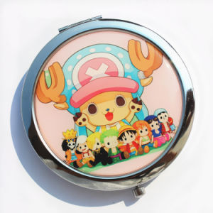 Souvenir Customized Round Portable Cosmetic Pocket Mirror Promotional Gift pictures & photos