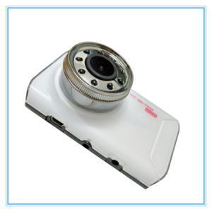 Novatek White Car Camera with 9 IR Lamps Night Vision pictures & photos
