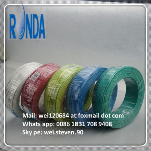 Cheap PVC Insulated Flexible Copper Core Electric Wire pictures & photos