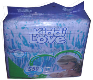 2015 Economic Kiddi Love for Pakistan Market Disposable Baby Diaper (H410) pictures & photos