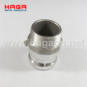 Aluminum Male Thread Coupling Kamlock Fittings pictures & photos