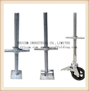 Electric Scaffolding Steel Screw Flat Jack for Construction pictures & photos