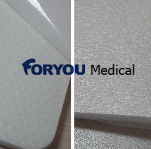 Silicone Coated Foam Dressing W/ Border pictures & photos