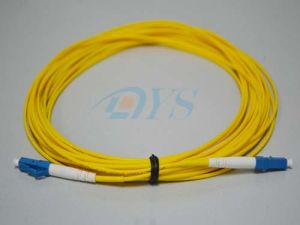 Singlemode 9/125 Simplex LC-LC Fiber Optic Patch Cord pictures & photos