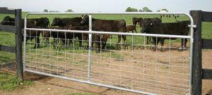 Galvanized Wire Mesh Brace Type Farm Gate pictures & photos
