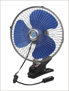 DC12V 9 Inch 60 Strips Metal Car Fan with Clip pictures & photos