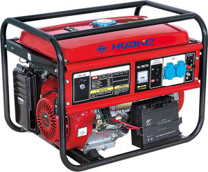 HH6500 Big Power Electric Start Gasoline Generator (3KW, 4KW, 5KW) pictures & photos