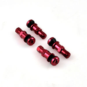4xred Car Aluminium Tubeless Wheel Tire Valve Stem Package pictures & photos