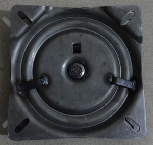 7 Inches Self Return 60 Degree Stool Swivel Plate pictures & photos