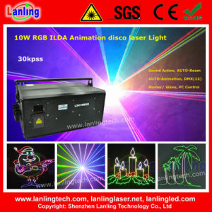10W RGB DJ Disco Laser Show System pictures & photos