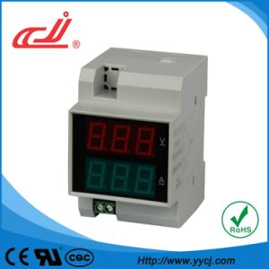 DIN-Rail AC Voltage and Current Meter (D52-2042) pictures & photos