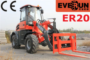 Everun Brand CE Certificated Er20 Small Wheel Loader pictures & photos