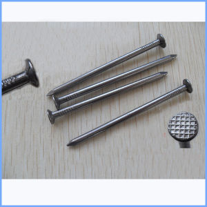 Bright Polished Flat Head Round Wire Nail pictures & photos
