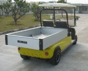 Yellow Electric Cargo Car pictures & photos