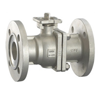 2 PC Flanged High Mounting Ball Valve (GB series)