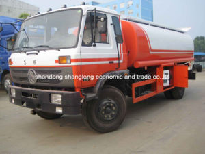 15 Cubic Meters 4*2 Fuel Tanker Truck for Exportaion pictures & photos