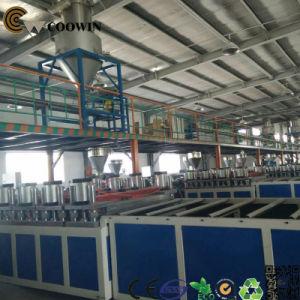 PE/PP/PVC WPC Wood Plastic Foam Profile Extrusion Line pictures & photos