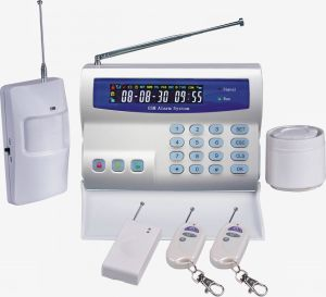 Russian Language GSM Security Home Alarm with LCD and Keypad pictures & photos