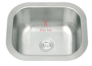Kitchen Sink, Single Stainless Steel Sink (A74) pictures & photos