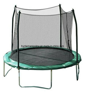 10FT Green Jumping Bed (trampoline) with Safety Enclosure Net for Child Playing pictures & photos