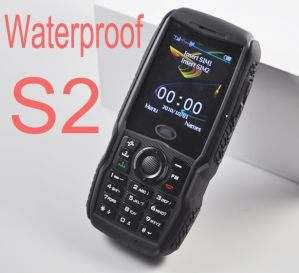Waterproof Mobile Phone With Dual Bands Torch Light (S2)