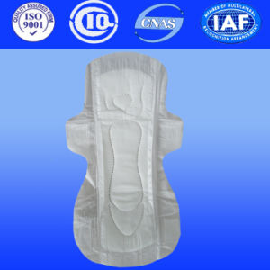 Extra Long Comfortable Cotton Surface Disposable Anion Sanitary Napkin pictures & photos