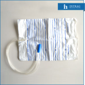 Sterile Disposable Drainage Bag with Twist Turn Valve pictures & photos