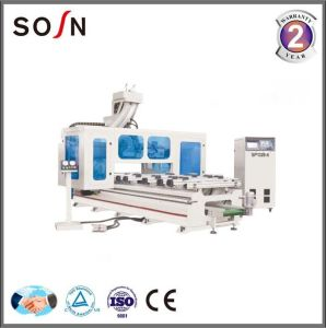 Sosn Factory Woodworking Machinery Ptp Woodworking Center pictures & photos