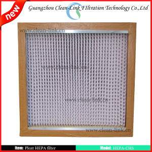 Pleated HEPA Filter with Long Working Life pictures & photos