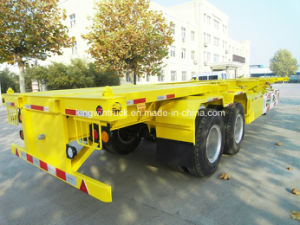 China 2 Axles Container Semi Trailer pictures & photos