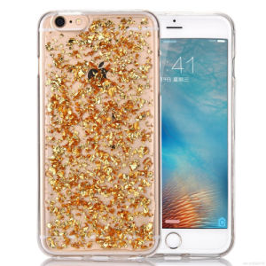TPU Liquid Phone Back Cover for iPhone 7 7plus 6 6splus Fashion Transparent Phone Case (XSDD-004) pictures & photos