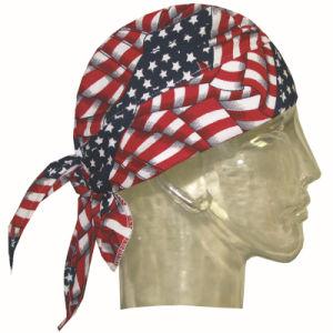 100% Polyester Woven Triangle America Flag Bandanas